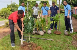Peringati Hari Bakti Pemasyarakatan, Rutan Menggala Gelar Tanam Pohon