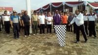Peringati HUT Bhayangkara Polres Pesawaran Gelar Olahraga dan Baksos