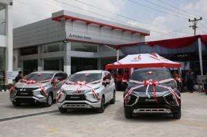 Perkuat Jaringan di Sumatera, Mitsubishi Resmikan Diler Baru