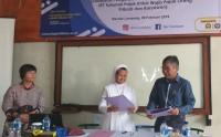 Perkuat Publikasi, STIE Gentiaras dan Lampung Post Teken MoU