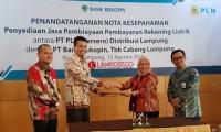 Permudah Pembayaran Listrik Pelanggan di Lampung, Bukopin - PLN Lakukan Kerja Sama Layanan Flexy Bill