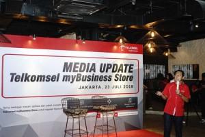 Permudah UKM Dapatkan Solusi Bisnis, Telkomsel Tawarkan myBusiness Store