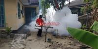 Permukiman Warga Korban Tsunami Sidomulyo Difogging