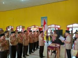 Persiapan Kemah Hari Pramuka ke 47 di Kecamatan Batanghari Hampir Final