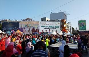 Persiapan Pemkot Sambut Obor Asian Games Sudah 80 Persen