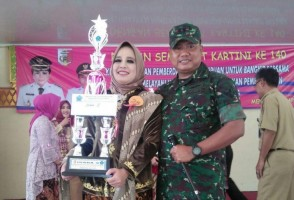 Persit Kodim 0426 Juara III Lomba Kebaya Kartini
