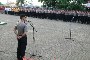 Personel Polda Bebas PilihLokasi Pengamanan Pemilu 2019