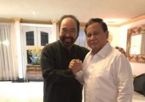 Pertemuan Prabowo - Paloh Sejukkan Politik Tanah Air