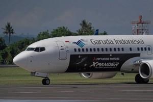 Pesawat Garuda Dipasang Livery Decal Branding Xpander