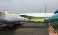 Pesawat Kenegaraan Rusak