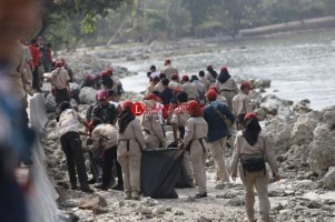 Peserta Sail Nias 2019 Tanam Mangrove dan Bersih Pantai