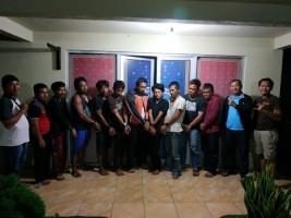 Polisi Gelar Perkara Penangkapan 10 Orang Pesta Sabu di Balai Kampung