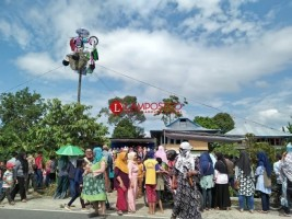 Pesta Sakura Cakak Buah di Pekon Balak Rebutkan Hadiah Belasan Juta
