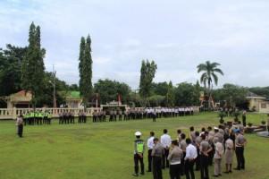 Petugas SPKT Polres Way Kanan Wajib Kedepankan 3S dalam Layani Masyarakat