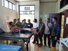 Petugas TNBBS Cidera Diserang Gajah Liar