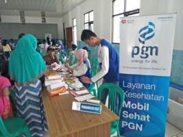PGN Gelar Pengobatan Gratis di Lampung Timur