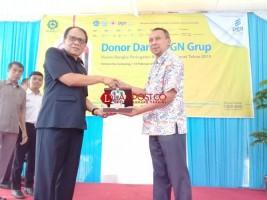 PGNCom dan Unila Kumpulkan 150 Kantong Darah