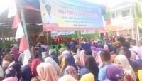Pilih Kepala Desa Baru, Ratusan Warga Sukaraja Datangi TPS