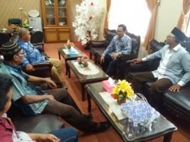 Pimpinan DPRD Lamteng Telusuri Asal Peta Abal-abal