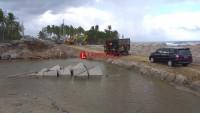 PJN Mulai Siapkan Produksi Beton Pembangunan Jembatan Permanen Mandirisejat