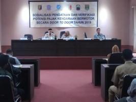 PKB Menunggak Rp1,2 Triliun, Bapenda Lampung Sosialisasi Pendataan dan Verifikasi Potensi Penerimaan Pajak di Lamsel