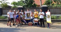 PKS Bandar Lampung Sosialisasikan Nomor Urut 8
