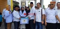 PKS Parpol Pertama Daftar Pencalegkan di KPU Kota Bandar Lampung