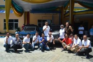 PLN Dukung Tim Blits Explore Indonesia Kenalkan Mobil Listrik Karya Anak Bangsa