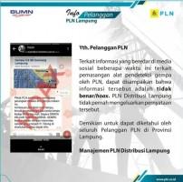 PLN Imbau Masyarakat Waspadai Informasi Hoaks Deteksi Gempa