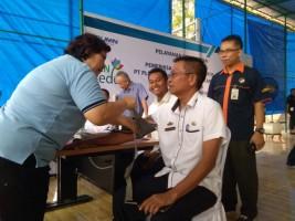 PLN UPDK Bandar Lampung Gelar Pengobatan Gratis