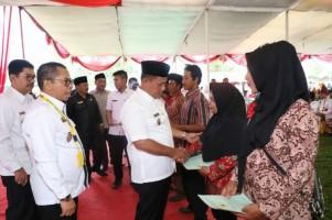 Plt Bupati Lampung Selatan Ingatkan Warga Gunakan Sertifikat dengan Bijak