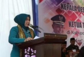 Plt Bupati Lampung Selatan Minta PKK Punya Kantor