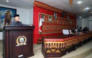 Plt Bupati Lampung Selatan Sampaikan RAPBD 2019