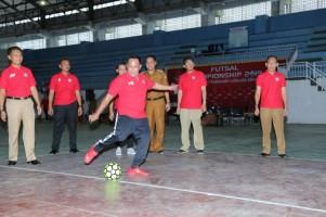 Plt Bupati Lamsel Buka Futsal Championship 2019