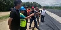 Plt. Bupati Lamsel Tinjau Pembangunan TPA Sampah di Natar