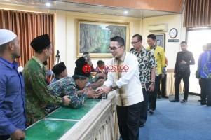 Plt Bupati Lamtim Lepas Kontingan Ikuti Porsadin Tingkat Provinsi
