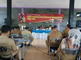 Plt Bupati Pemkab LamselGelar Rakor Pejabat