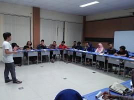 PMII Komisariat Raden Intan Buka Kelas Pemikiran Kritis