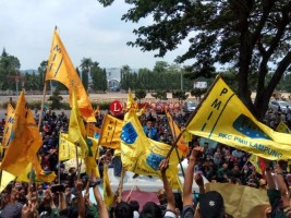 PMII Lampung Tolak Pelemahan KPK