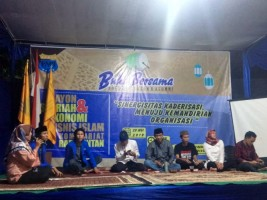PMII Rayon Syariah Bukber dengan Kader dan Alumni