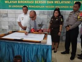 PN Kalianda Canangkan Pembangunan Zona Integritas WBK dan WBBM