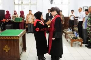 PN Kotabumi Gelar Sertijab Wakil Ketua Pengadilan Negeri