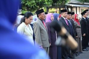 PN Tanjungkarang Gelar Upacara Peringatan HUT MA Ke-74