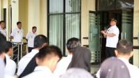 PNS Lingkup Pemkab Lamtim Diminta Jaga Disiplin dan Fokus Bekerja