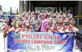 Pocil Lamtim Sabet Juara Umum dan Piala Bergilir Kapolda Lampung