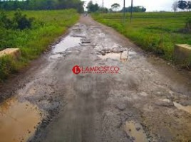 Poktan Mulyasari, Desa Sidokayo Harapkan Perbaikan Jalan Desa