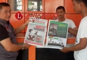Polda-Gakkumdu Awasi Peredaran Tabloid Indonesia Barokah di Lampung
