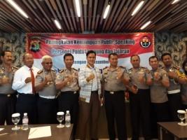 Polda Gelar Pelatihan Public Speaking Bagi Anggotanya