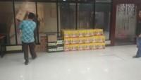 Polda Lampung Amankan 87 Dus Miras
