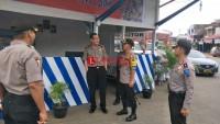 Polda Lampung Cek Kesiapan Pos Pengamanan dan Pelayanan di Lampura